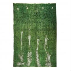 فرش دستبافت رنگ شده شش متری مدل وینتج کد 1405120