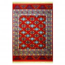 فرش دستبافت یک و نیم متری کد 7005