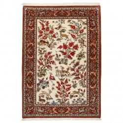 فرش دستباف ذرع و نیم سی پرشیا کد 183074