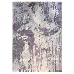 فرش ماشینی آرمانی کد 4030 زمینه طوسی