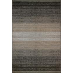 فرش ماشینی فرش رادین طرح گبه 13 زمینه موشی