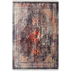 فرش ماشینی طرح پتینه کد afrand_1030