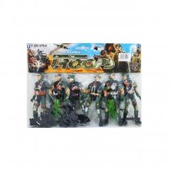 فیگور سرباز مدلجنگل مجموعه 6 عددی