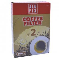 فیلتر قهوه  الوفیکس مدل 2 بسته 100 عددی