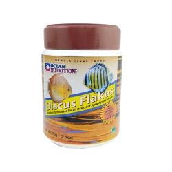 غذای آبزیان اوشن نوتریشنمدل Discus flakesکد 1511a وزن 34 گرم