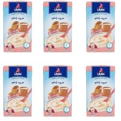 غذای کودک حریره بادام ماجان – 135 گرم بسته 6 عددی