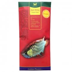 غذای ماهی گلدن فونیکس مدل SUPER SHRIMP وزن 60 گرم