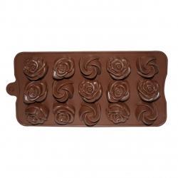 قالب شکلات مدل Rose 2