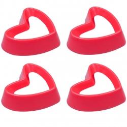 قالب شیرینی بک ویر مدل Heart بسته 4 عددی