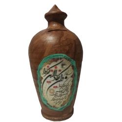 قلک سفالی طرح آیه قرآن و ان یکاد مدل S215