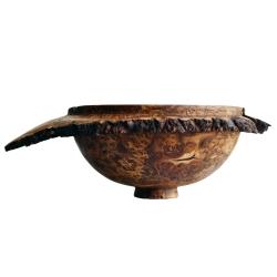 گلدان چوبی مدل لوت