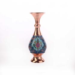 گلدان مس و پرداز آرانیک مدل شاه عباسی کد 1015700023