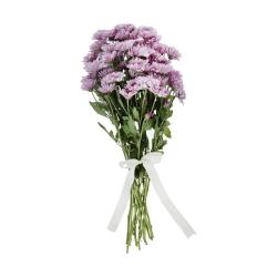 گل داوودی مینیاتوری صورتی  دسته 6 عددی