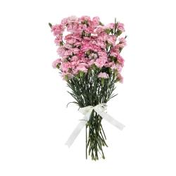 گل میخک مینیاتوری صورتی دسته 6 عددی
