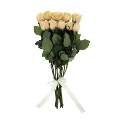 گل رز هلندی گل بهی دسته 10 عددی