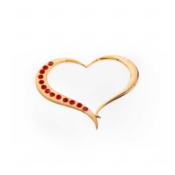 گردنبند دست ساز زنانه آرانیک مدل برنجی با آبکاری طلا کد 1510500033