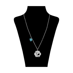 گردنبند نقره زنانه کد SH114