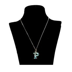 گردنبند نقره زنانه طرح P کد ZIFK4