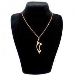 گردنبند نقره زنانه طرح مریم کد UN0056