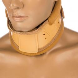 گردن بند طبی پاک سمن مدل Hard With Chain Pad سایز بزرگ