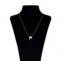 گردنبند طلا 18 عیار ماهک مدل MM0540 – مایا ماهک