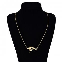 گردنبند طلا 18 عیار زنانه کد UN0369