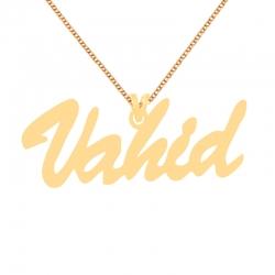 گردنبند طلا 18 عیار زنانه کرابو طرح وحید مدل Kr70254