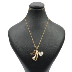 گردنبند طلا 18 عیار زنانه مدل FL 01256