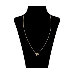 گردنبند طلا 18 عیار زنانه مدل GI1007