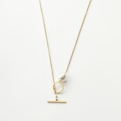 گردنبند طلا 18 عیار زنانه مدل MM106