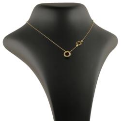 گردنبند طلا 18 عیار زنانه مدل NM22