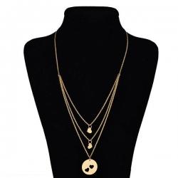 گردنبند طلا 18 عیار زنانه عدنان مدل e45