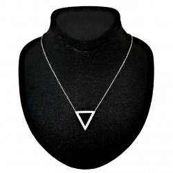 گردنبند زنانه طرح مثلث کد B305