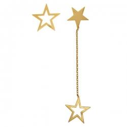 گوشواره طلا 18 عیار زنانه کانیار گالری کد GOA30