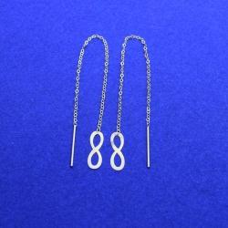 گوشواره طلا 18 عیار زنانه کانیار گالری مدل E38