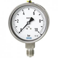 گیج فشار ویکا مدل 232.50.100 صفر تا 600 بار
