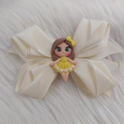 گیره مو دخترانه مدل عروسکی