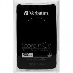 هارد دیسک اکسترنال ورباتیم مدل 53040 Store N Go For Mac ظرفیت 500 گیگابایت