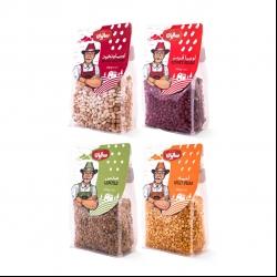 حبوبات  صنایع غذایی سالیان – 450 گرم مجموعه 4 عددی