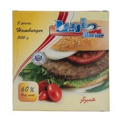 همبرگر 60 درصد گوشت مارین – 500 گرم