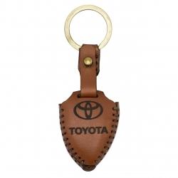 جاسوئیچی خودرو چرم طبیعی کد ct-463 مناسب برای تویوتا پرادو کمری کرولا 4 کلید (عرضه کالا)