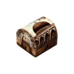 جعبه جواهرات استخوانی طرح گنبد کد m6