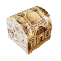 جعبه جواهرات استخوانی طرح مسجد کد B 257