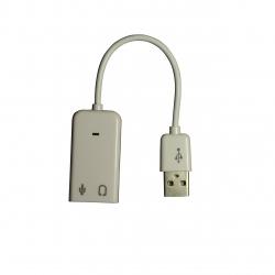 کابل تبدیل USB به جک 3.5 میلی متری مدل 101