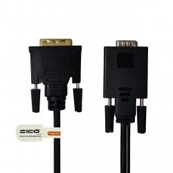 کابل تبدیل VGA به DVI اکتیو زیکو مدل G+UA2D طول 1.5 متر