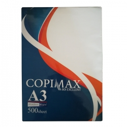 کاغذ A3 کپی مکس مدل اکسلنت بسته 500 عددی