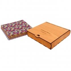 کاغذ اوریگامی کد 31 مجموعه 120 عددی به همراه جعبه نگهدارنده کاغذ