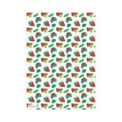 کاغذ کادو آلما طرح هندوانه مدل WM006 بسته 5 عددی