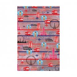 کاغذ کادو مدل پاریس کد 300 بسته 10 عددی