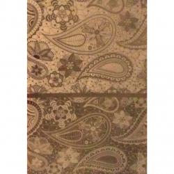 کاغذ کادو طرح بته جقه کد KH616 بسته 3 عددی